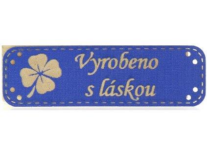 990031 NG KOZENKA MODRA CTYRLISTEK