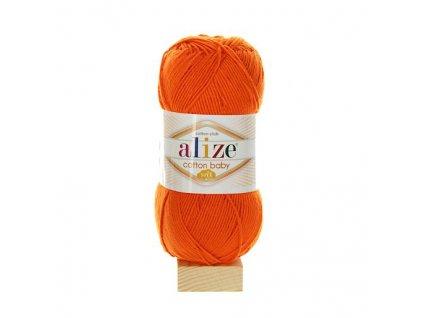 Cotton Baby Soft oranžová 37