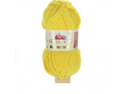 Dolphin Baby žlutá 80313