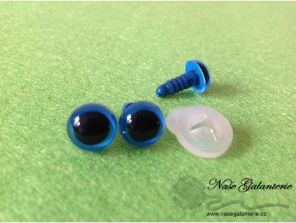Očička modré 10 mm 1 pár