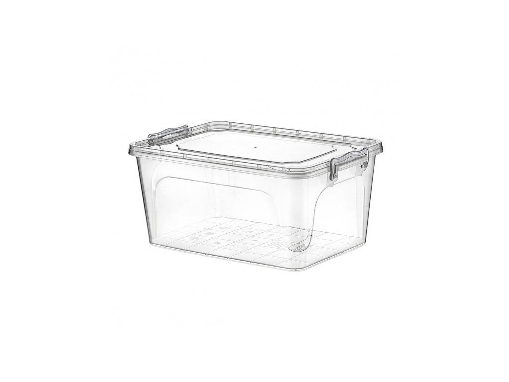 Plastový úložný box Multi obdélník 8 l