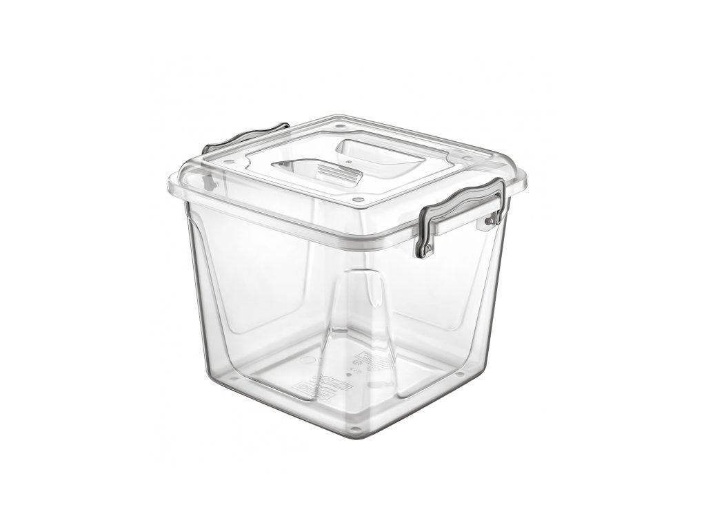 Plastový úložný box Multi nízký 8,5 l