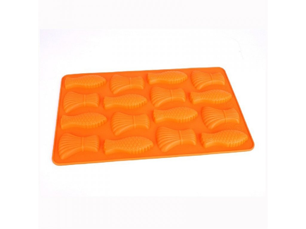 43980 silikonova pecici forma na maslicky 34 x 21 cm