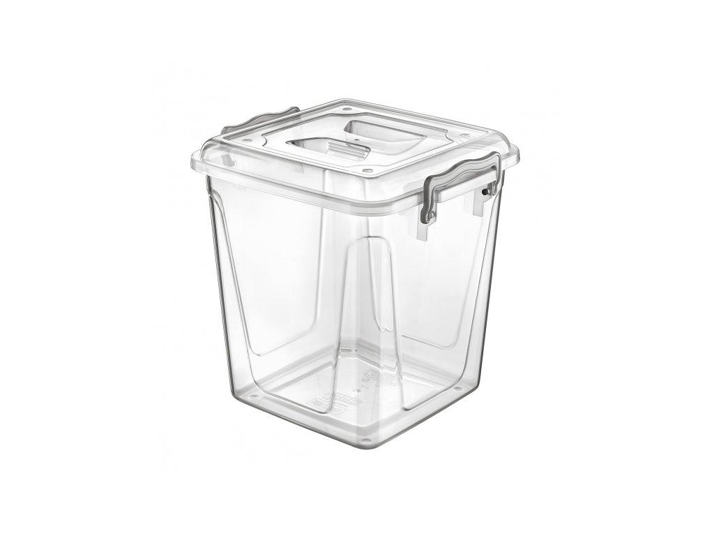 Plastový úložný box Multi vysoký 11 l