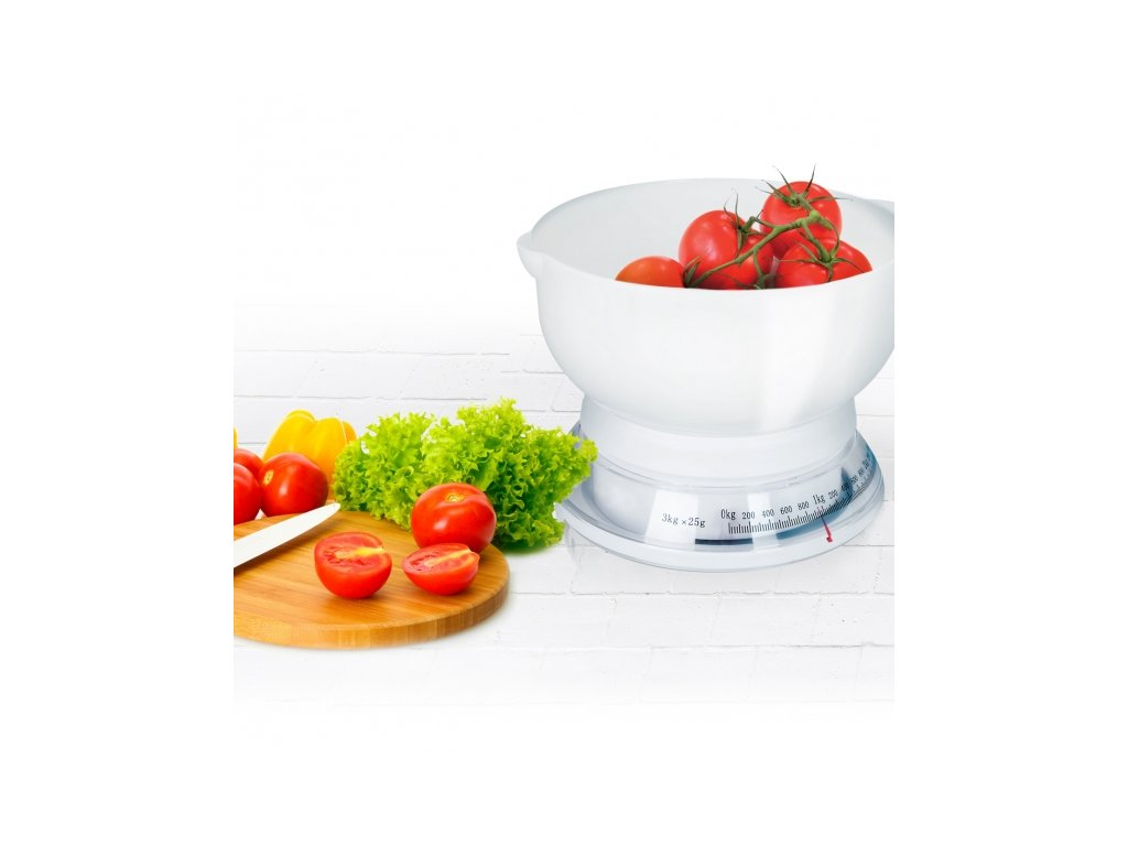 Kuchyňská váha mechanická Round 3 kg