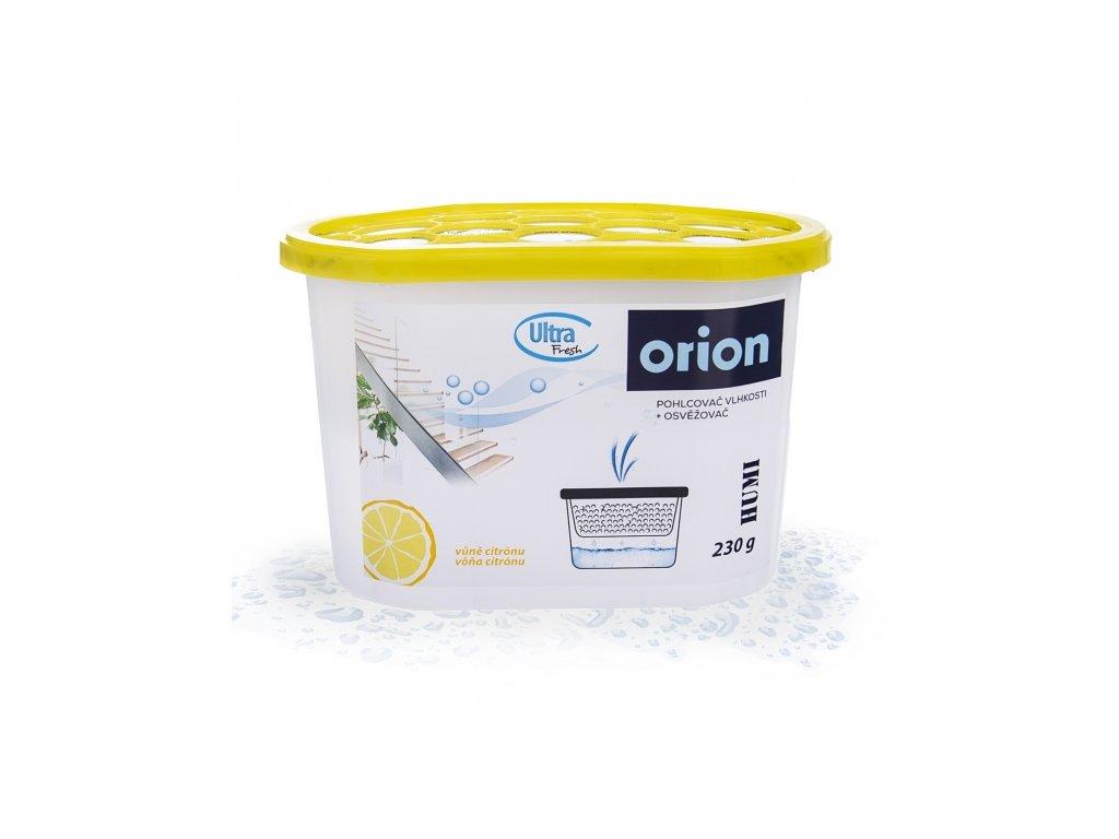 Pohlcovač vlhkosti+osvěž. vzd. HUMI 230 g citron