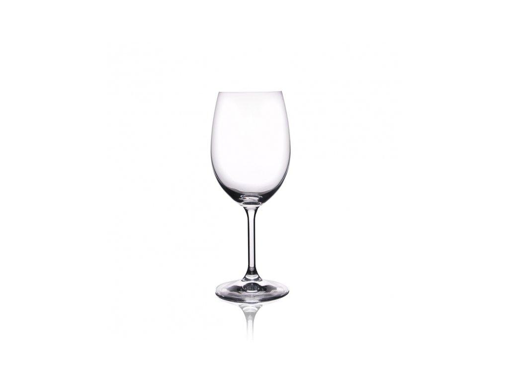Sklenice na červené víno 0,35 l 6 ks