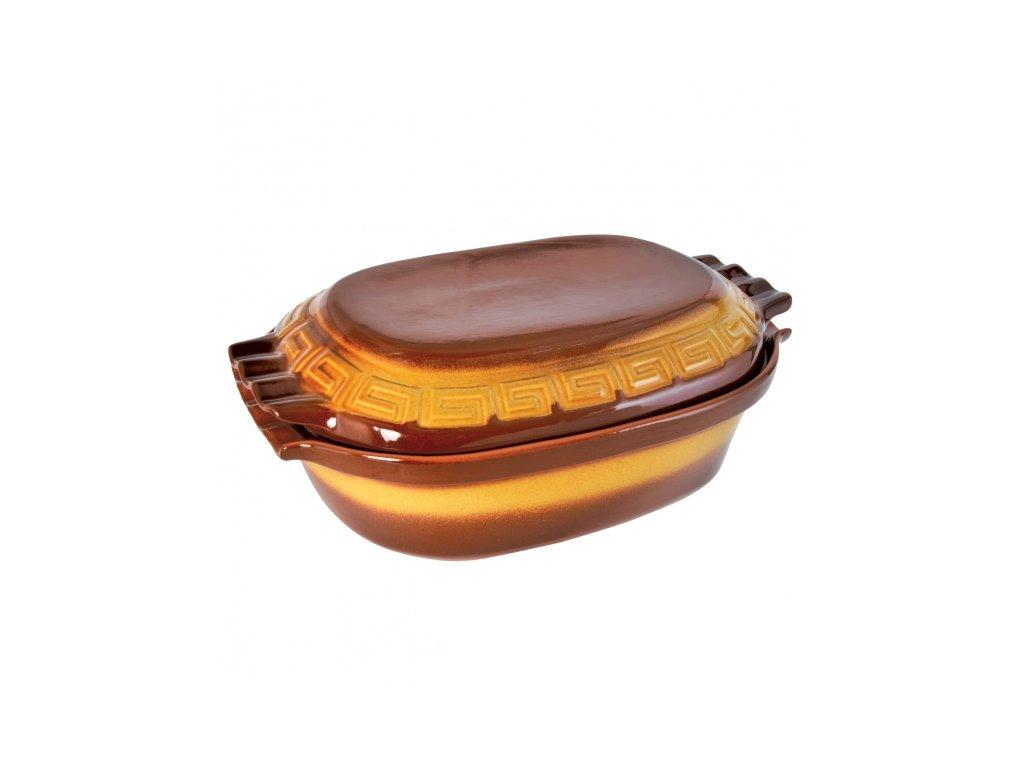 Keramický pekáč s víkem 6 l