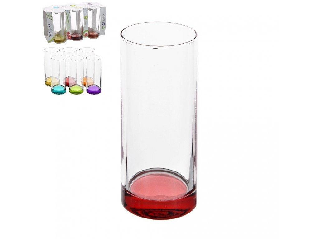 49866 sklenice s barevnym dnem liberty 0 295 l