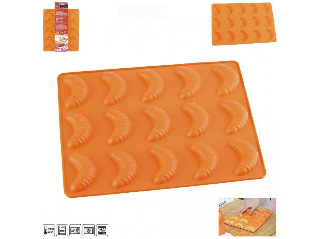 50040 silikonova pecici forma na rohlicky 15 24 5 x 21 cm