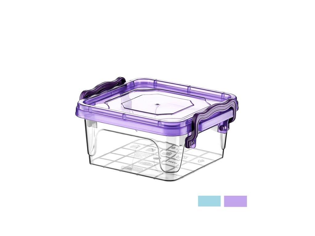 Plastový box Multi čtverec 0,35 l