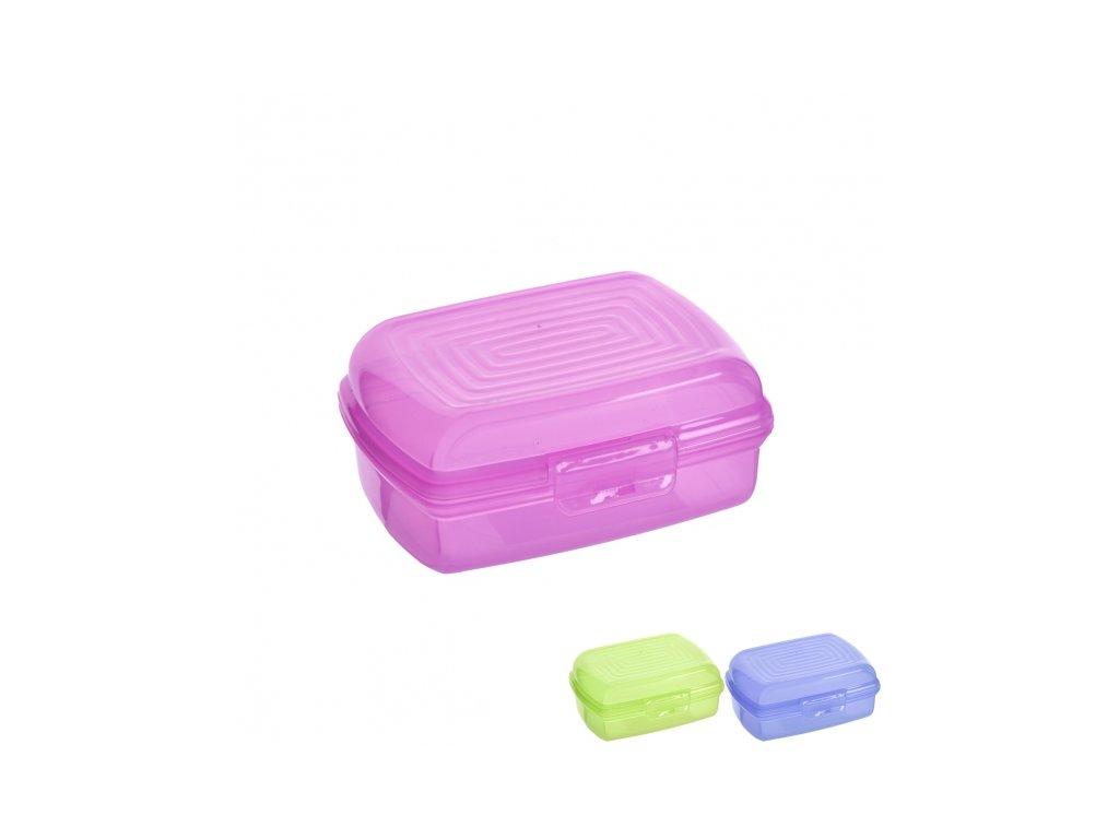 Plastový box na svačinu 12 x 8 x 5,5 cm