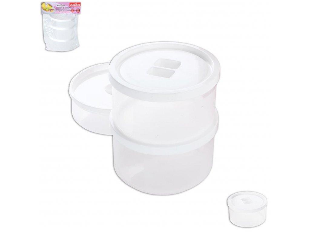 51177 1 nahradni plastova doza s vikem k jogurtovaci 125815 3 ks