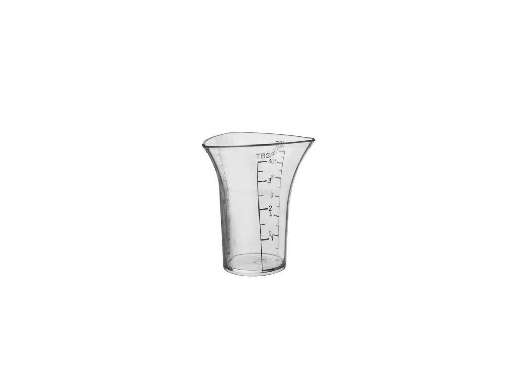 Plastová odlivka na alkohol 0,06 l