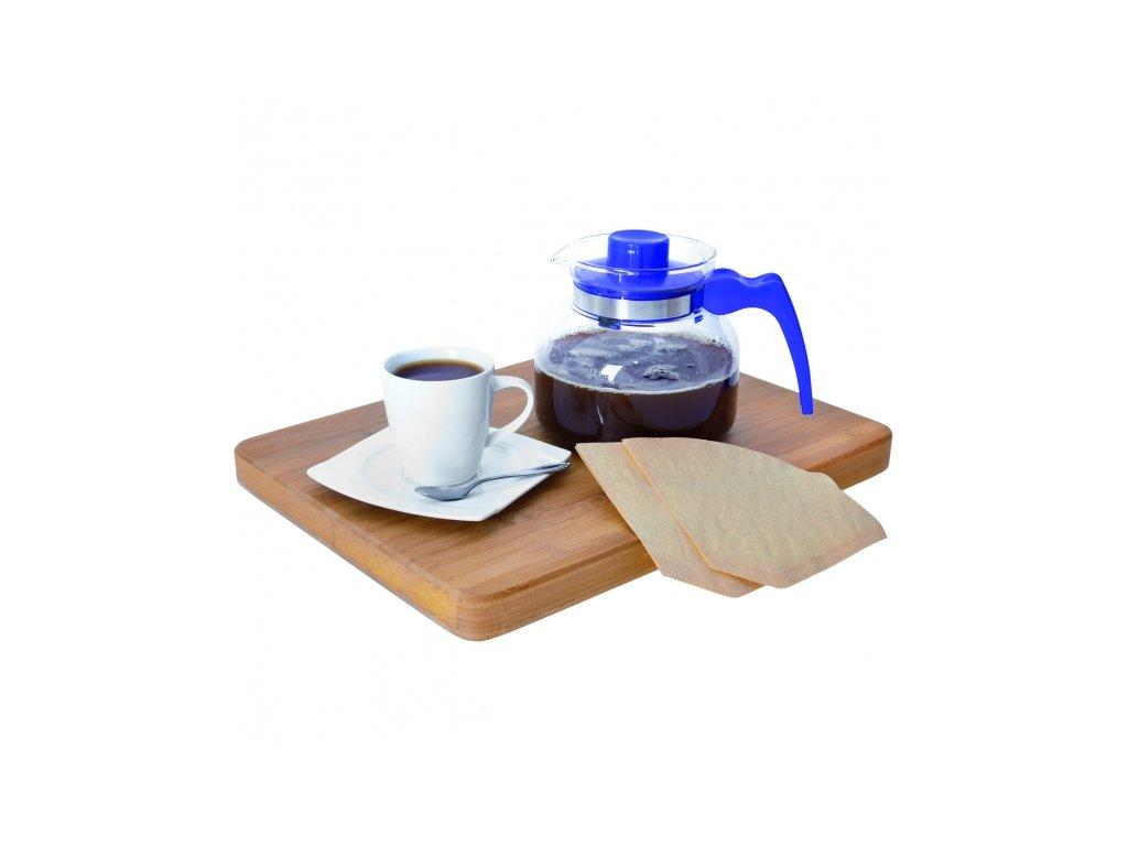 Kávový filtr nebělený velikost 4 balení 100 ks