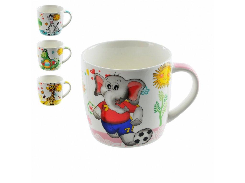 Porcelánový hrnek pro děti Simba, 0,3 l