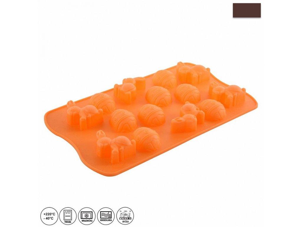 52272 silikonova pecici forma jaro 27 x 15 5 cm