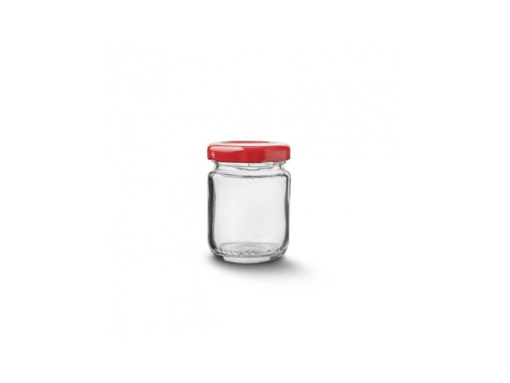 Zavařovací sklenice s víčkem 0,06 l 9 ks