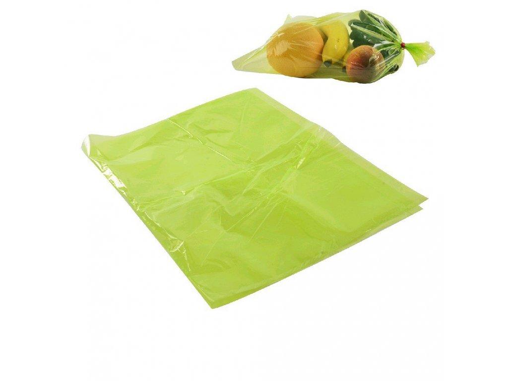 54537 plastovy sacek na ovoce a zeleninu 38 x 23 cm 12 ks
