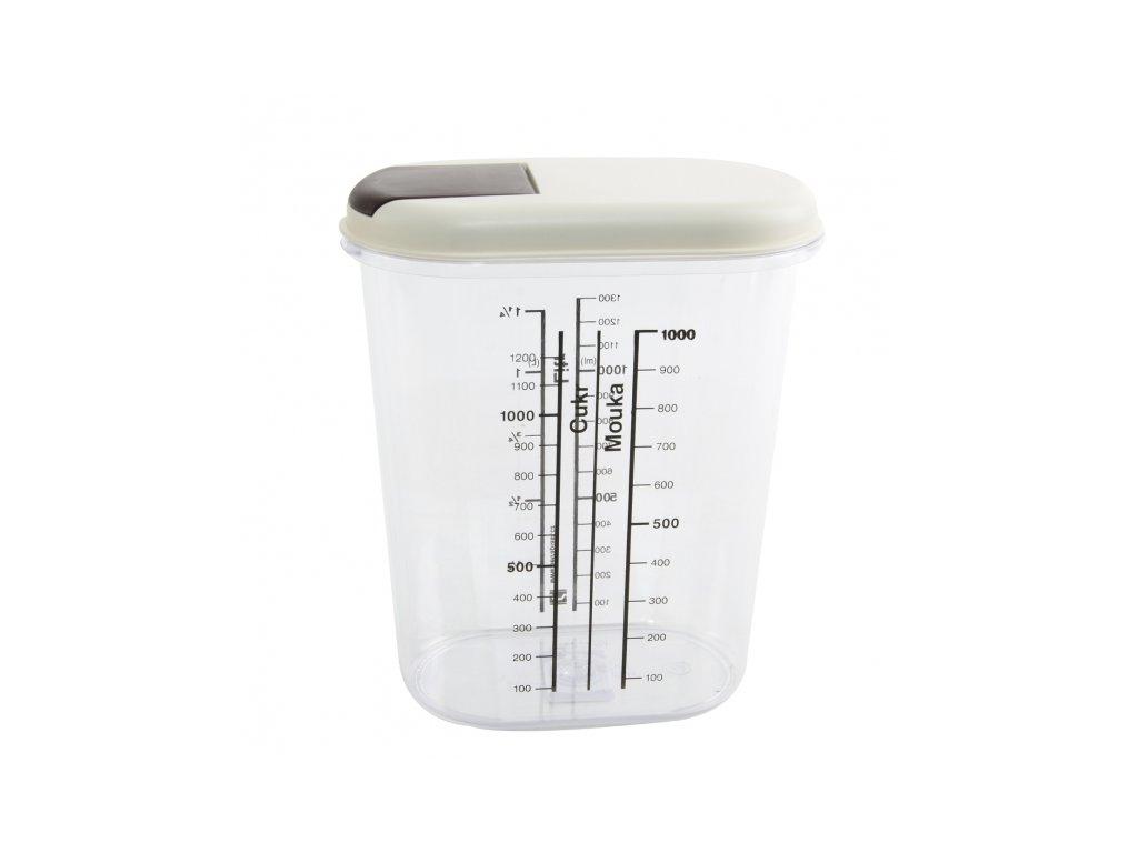 Plastová dávkovací dóza Petra 1,5 l