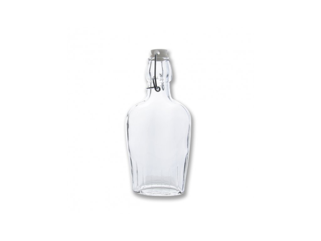 Skleněná láhev Clip 0,18 l