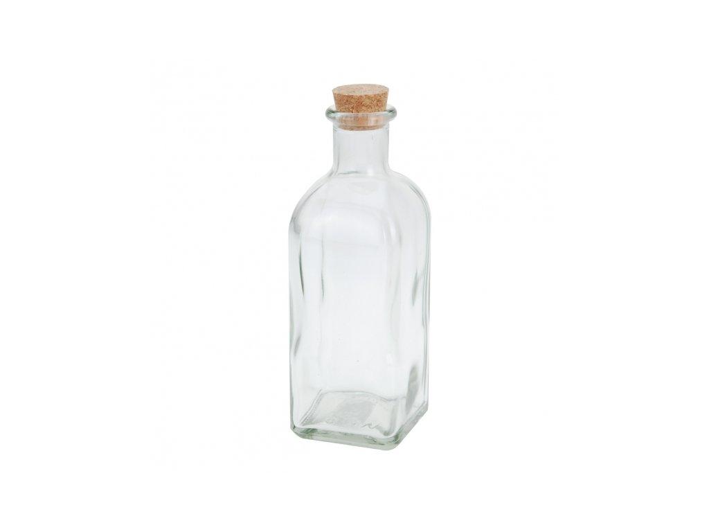 Láhev sklo+zátka korek 0,5 l