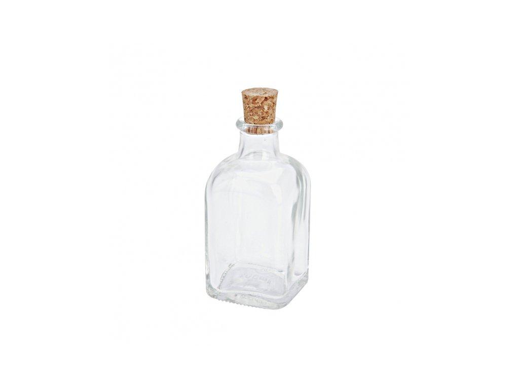 Láhev sklo+zátka korek 0,25 l