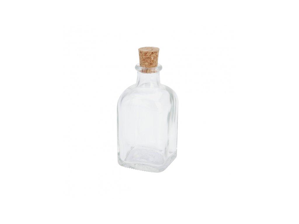 Láhev sklo+zátka korek 0,125 l