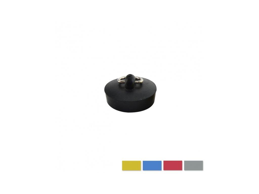 Zátka guma pr. 4,6/4,3 cm ASS
