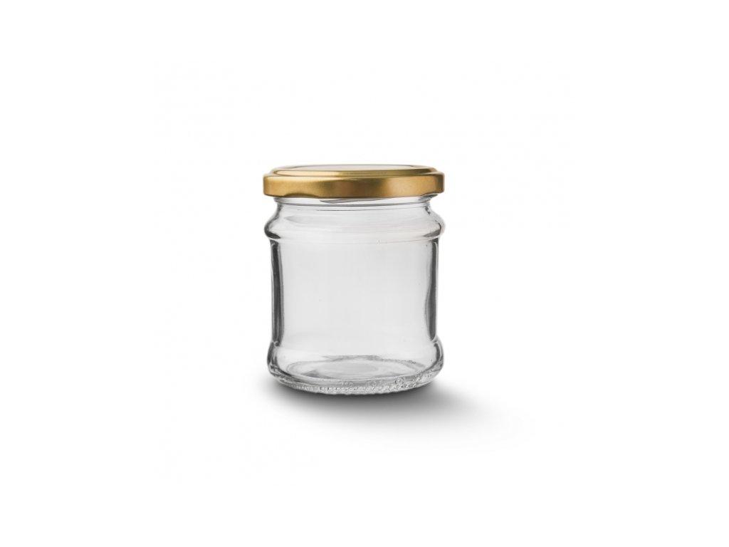 Zavařovací sklenice s víčkem 0,212 l