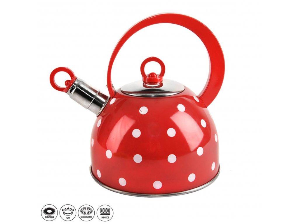 Nerezový čajník Karin 1,8 l