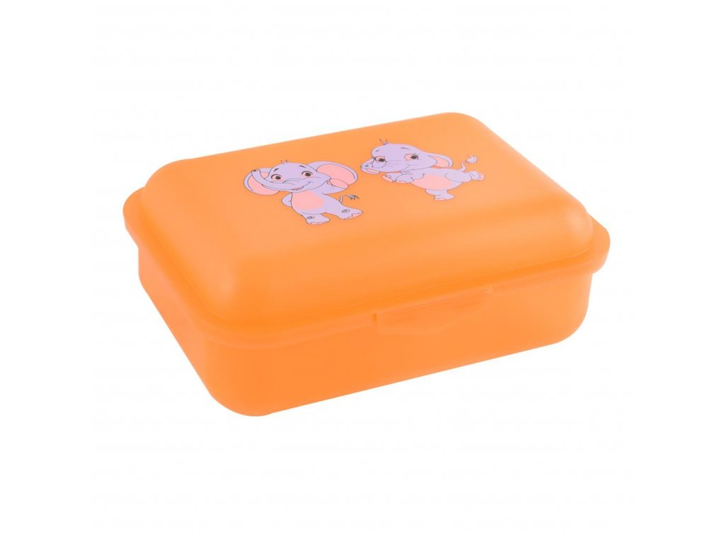 Plastový box na svačinu Zvířata 17,5 x 12,5 cm