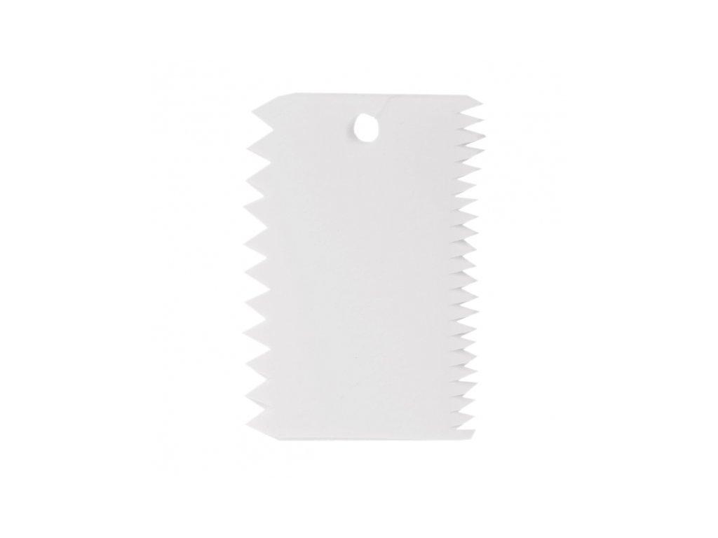 Zubatá stěrka 11x7,5cm