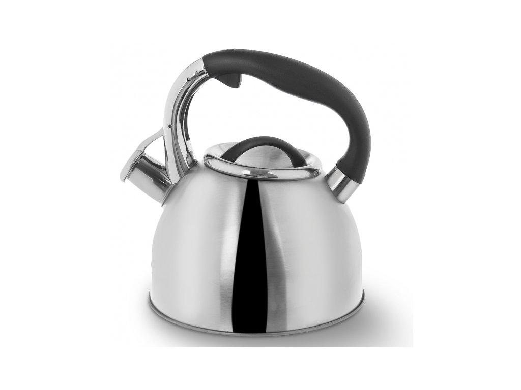 Nerezový čajník Darek 2,7l stříbrný