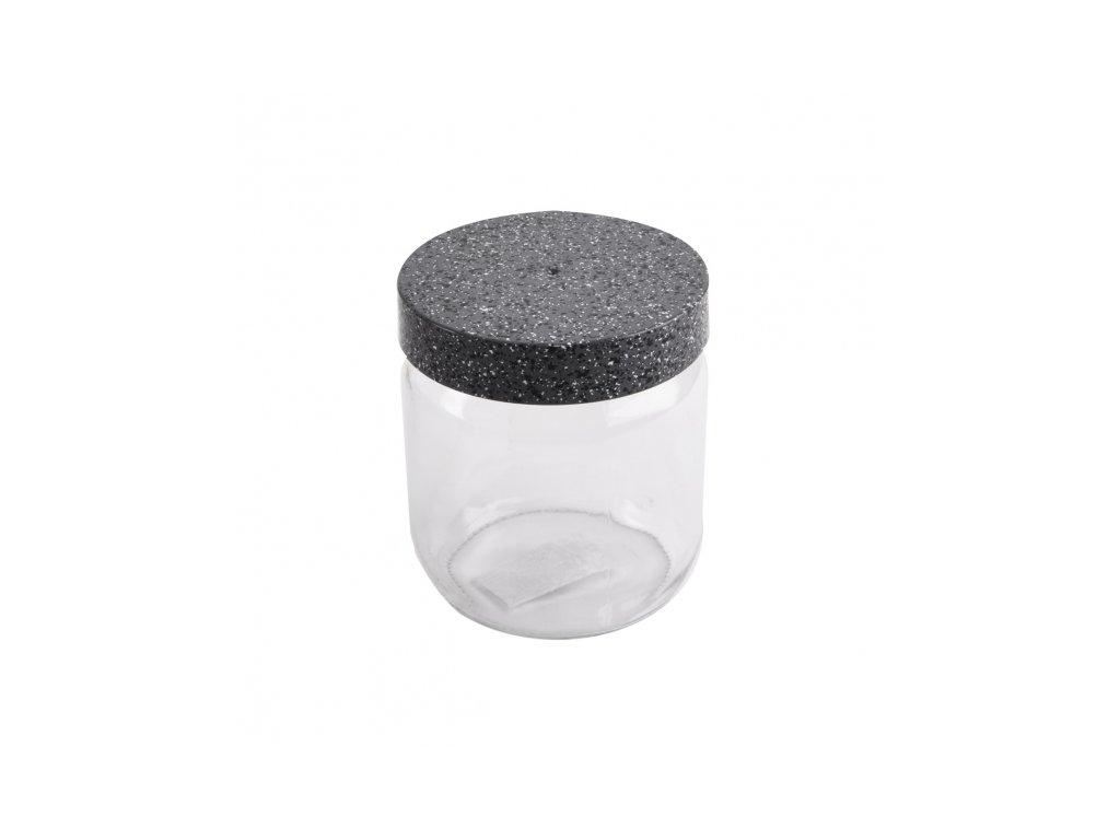 Skleněná dóza Granit 0,425 l