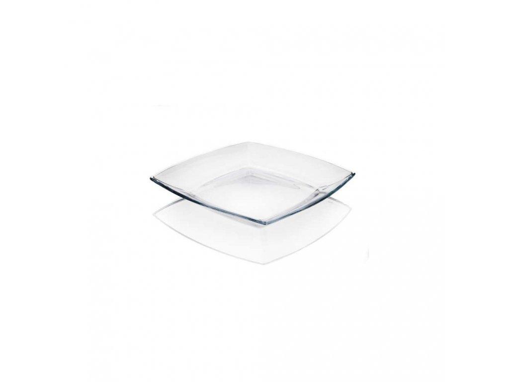 PASABAHCE Sada mělkých skleněných talířů TOKIO 26,5 cm, OK