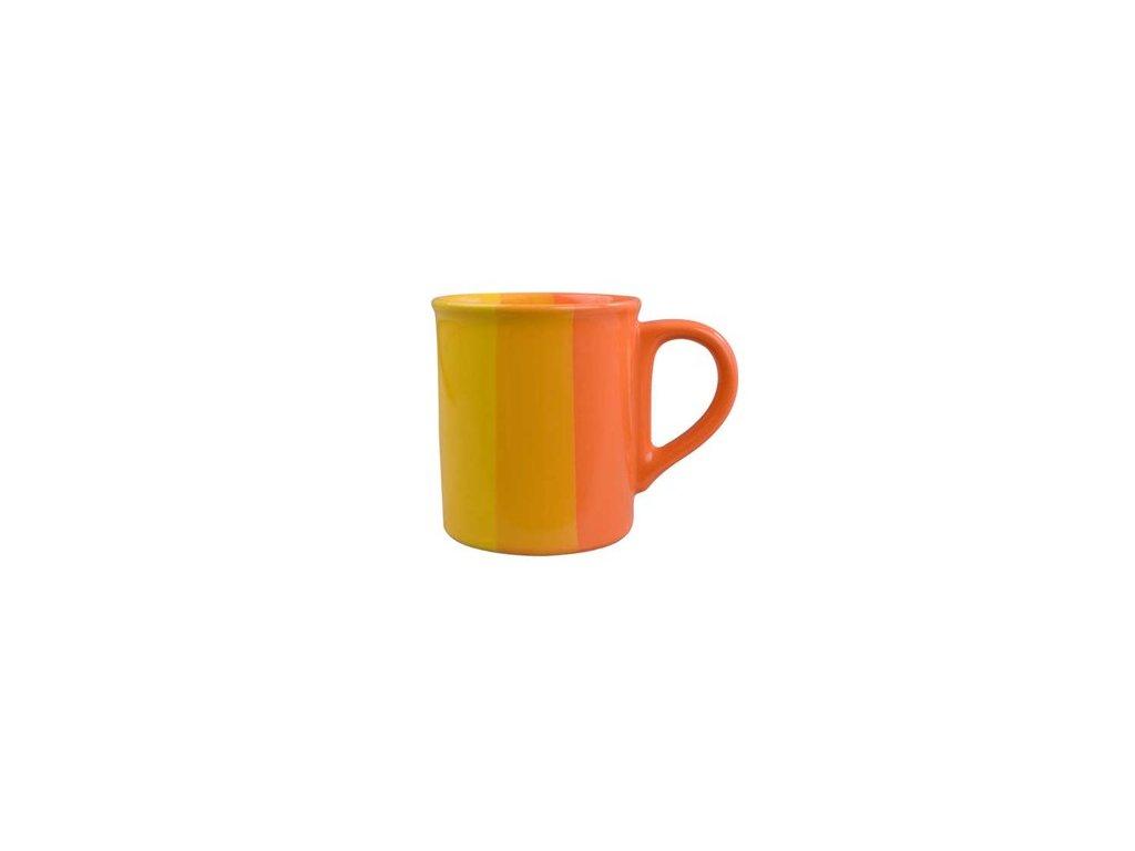 BANQUET Hrnek keramický 270 ml, oranžovožlutý