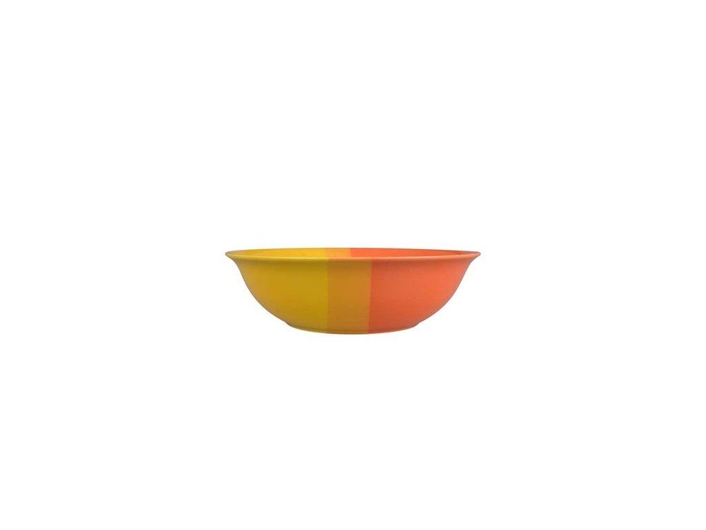 BANQUET Mísa keramická 24,5 cm, oranžovožlutá
