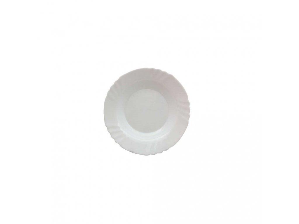BORMIOLI Talíř skleněný hluboký EBRO 23,5 cm