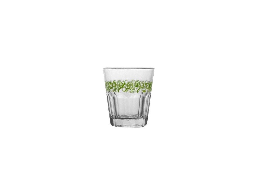 BANQUET Sada sklenic na whisky GENEVA 240 ml, 3 ks