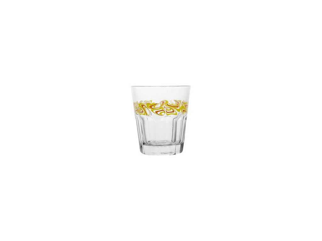 BANQUET Sada sklenic na whisky JERSEY 240 ml, 3 ks