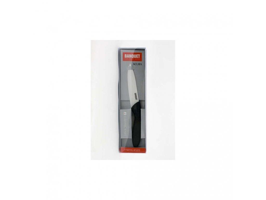 Univerzální keramický nůž Banquet Acura, čepel 10 cm