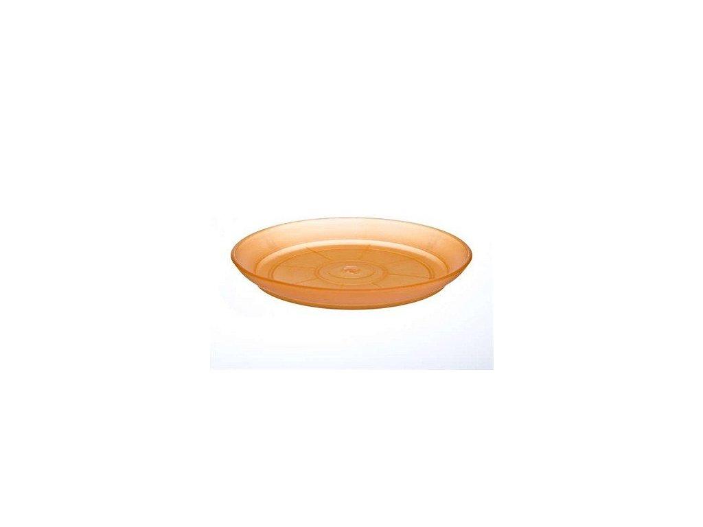 Podmiska plastová PATIO SOFT 15 cm, oranžová