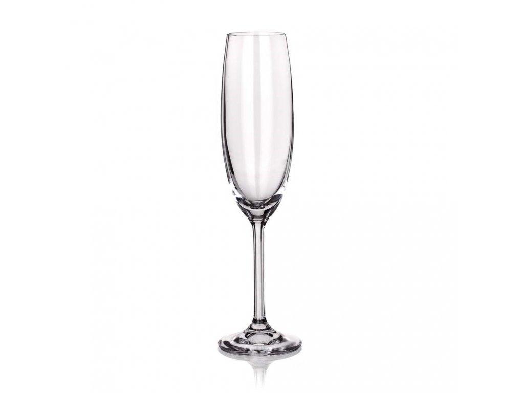 BANQUET CRYSTAL Sada sklenic na sekt DEGUSTATION 220 ml, 6 ks, OK
