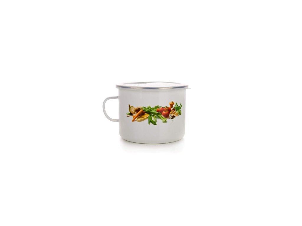 61251 1 banquet hrnek smaltovany vegetables 2 0 l