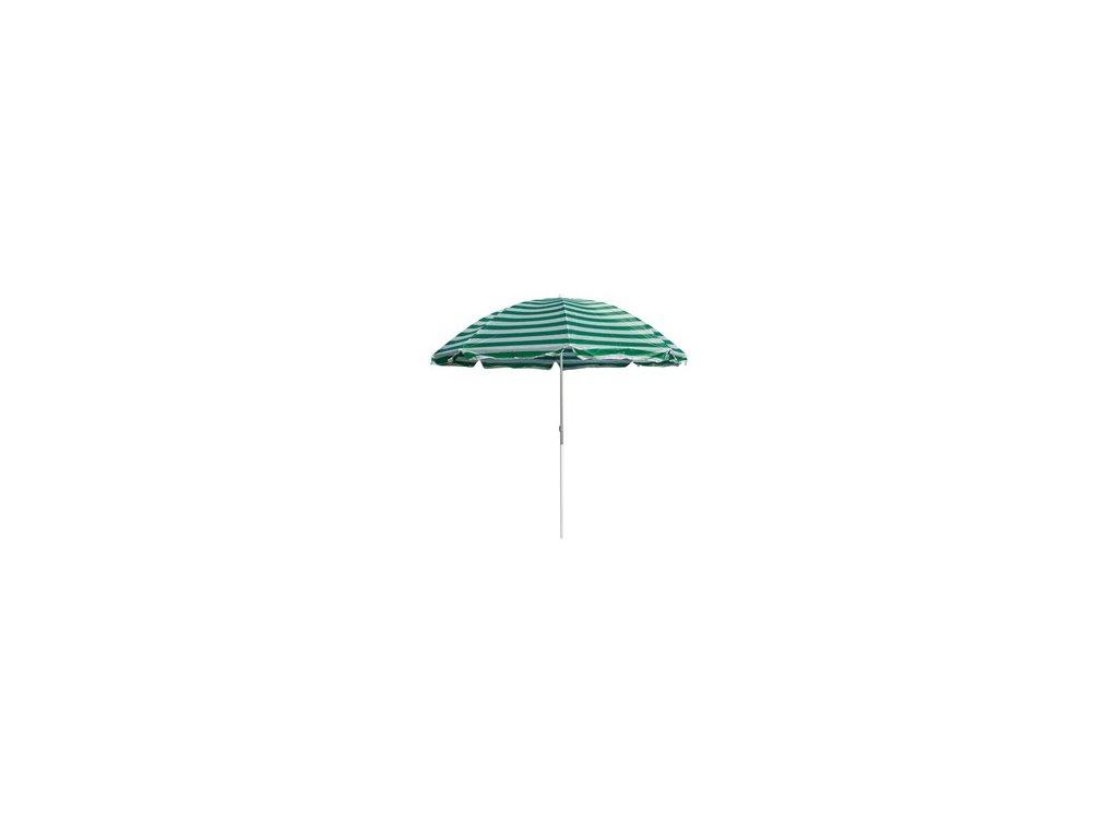 Plážový slunečník Happy Green zelený, 230 cm