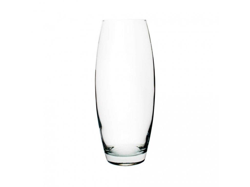 PASABAHCE Váza skleněná zaoblená FLORA 26 cm