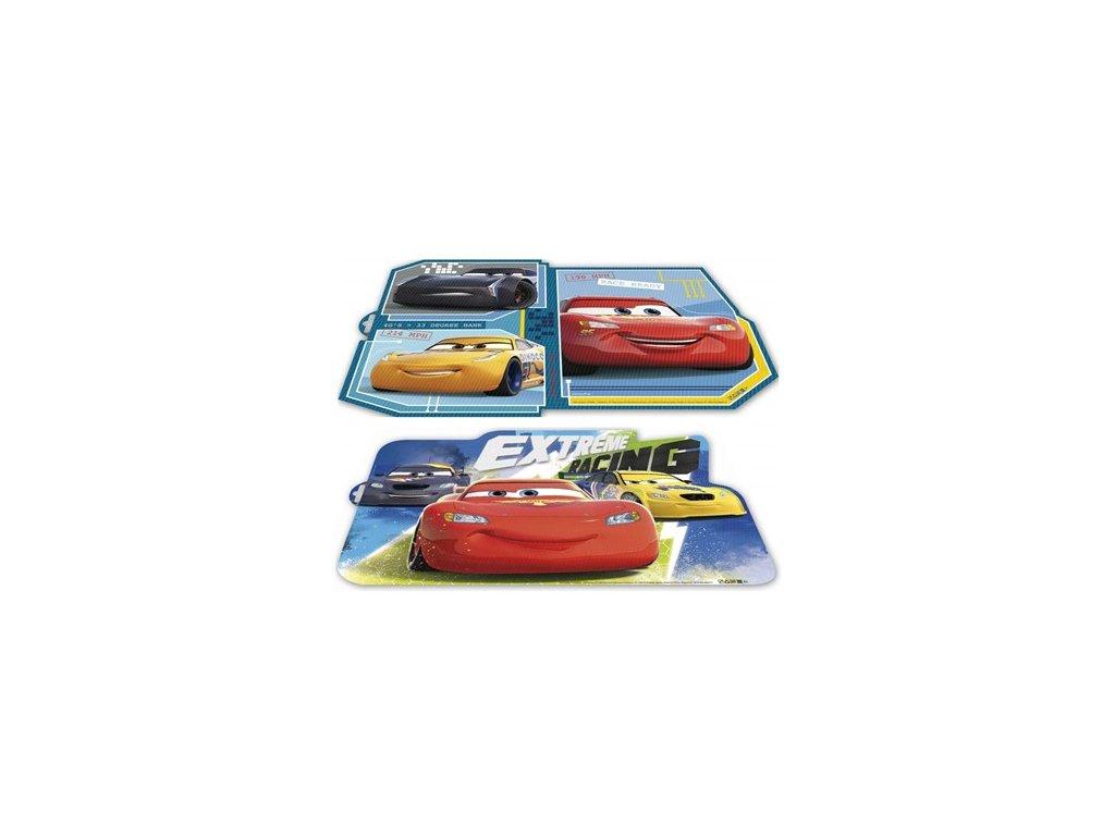 61641 prostirani plastove tvarovane cars l 43 x 29 cm