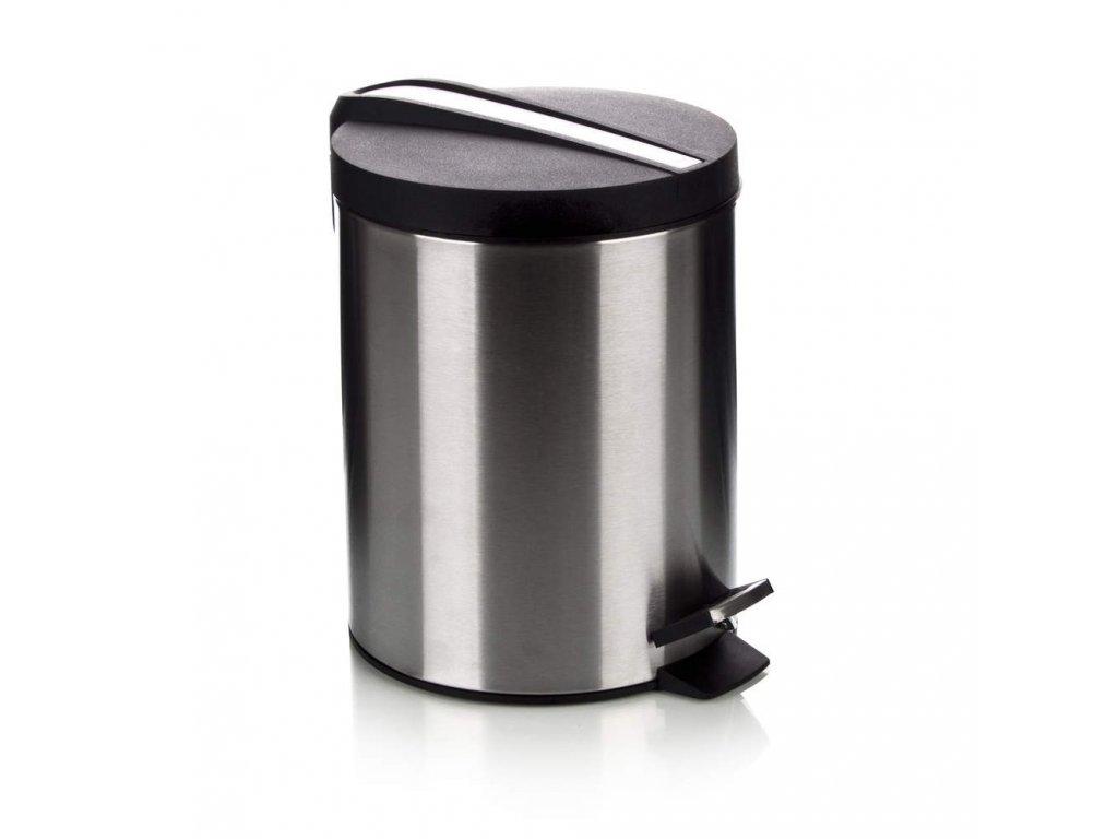 Nerezový odpadkový koš Banquet Soliste New, objem 5 l