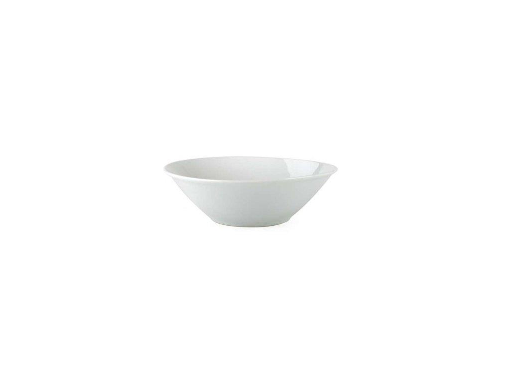 BANQUET Mísa porcelánová 23 cm, nedekorovaná